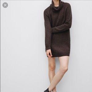 Talula Aldred oversized sweater turtleneck dress